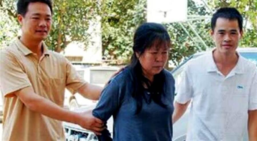 大陸第一人口販子陳蓮香被逮捕。(翻攝自網路)