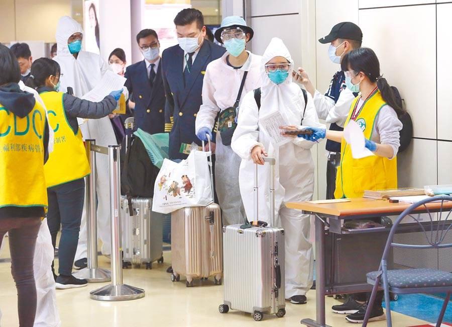 中央疫情中心22日宣布24日起禁止來台轉機。(示意資料照,陳麒全攝)