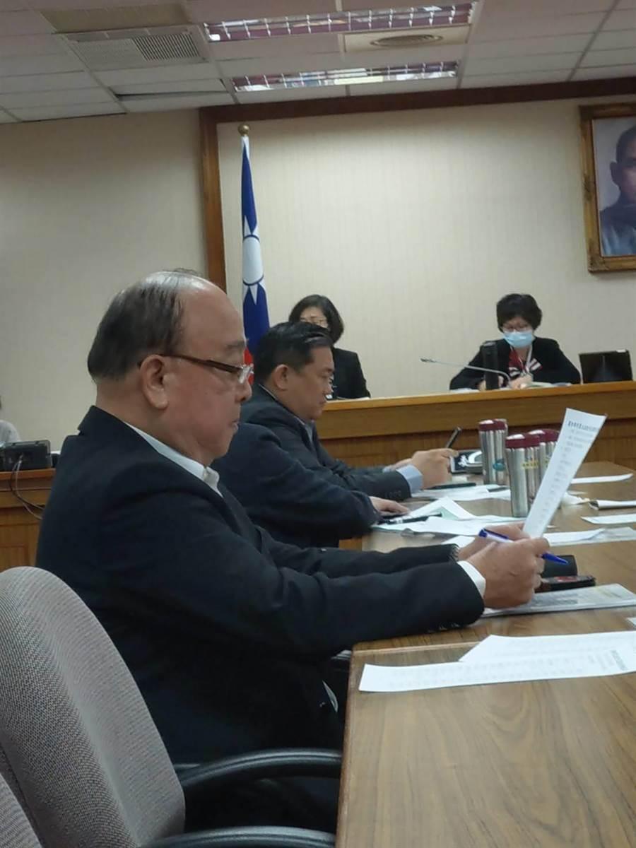 立委吳斯懷上周出席國防委員會。呂昭隆攝