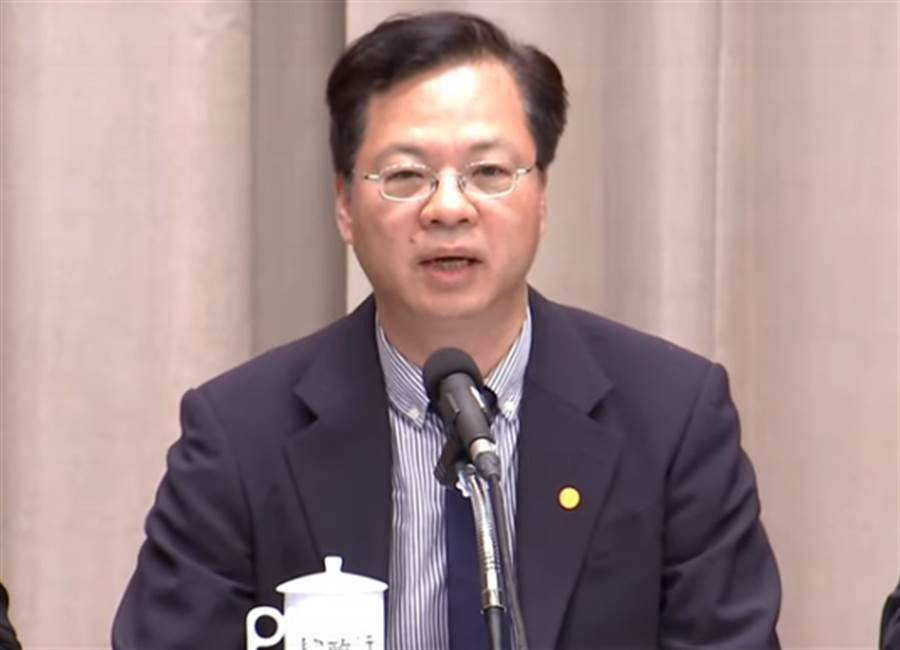 行政院政務委員龔明鑫。(圖/取自中時電子報直播)