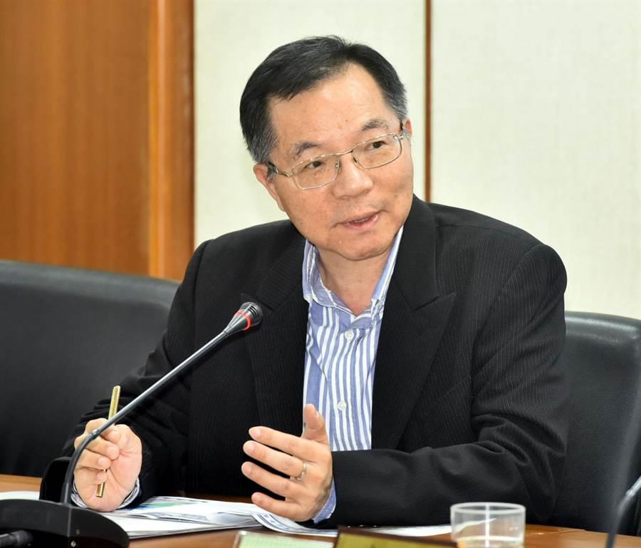 台水總經理胡南澤。(圖/顏謙隆)