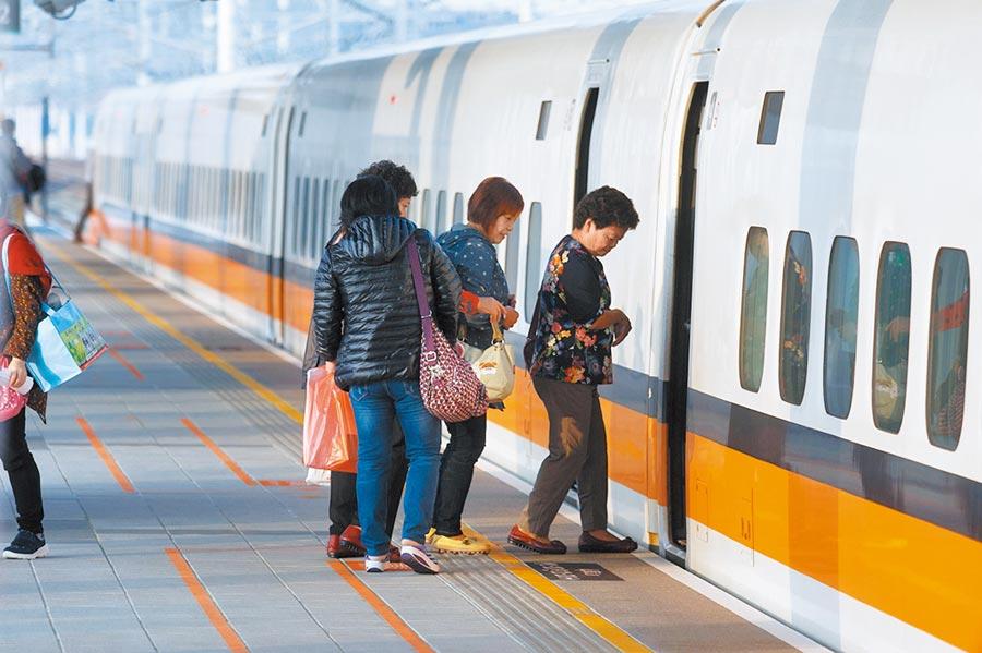 因疫情對運量造成衝擊,台灣高鐵公司昨宣佈,4月18日起啟動短期班表調整。(本報資料照片)