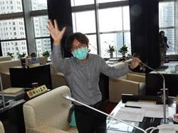 台中市議會藍、綠議員  針對中央與地方生煤管制條例激辯