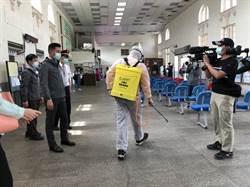 新竹市防疫消毒大隊成立!2周內消毒完全市公園、車站共137處