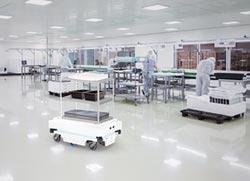 所羅門 推自主移動機器人搬運車