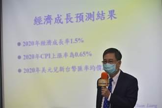 台灣GDP年增率 元大寶華估不保二