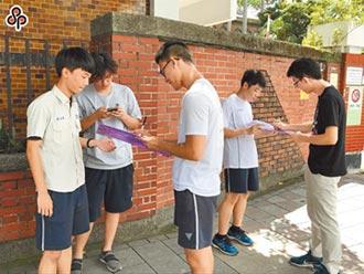 高中職服儀輔導 不能轉彎處罰
