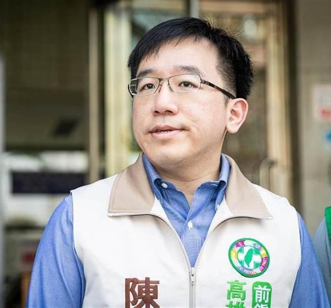 民進黨高雄市議員陳致中。(圖/本報資料照)