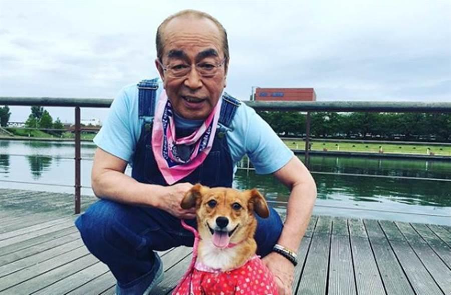 日本喜劇王、人稱「怪叔叔」的藝人志村健,今被證實確診新冠肺炎。(圖/翻攝自志村健IG)