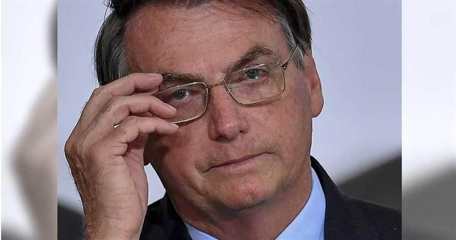 巴西總統賈爾。(圖/美聯社)