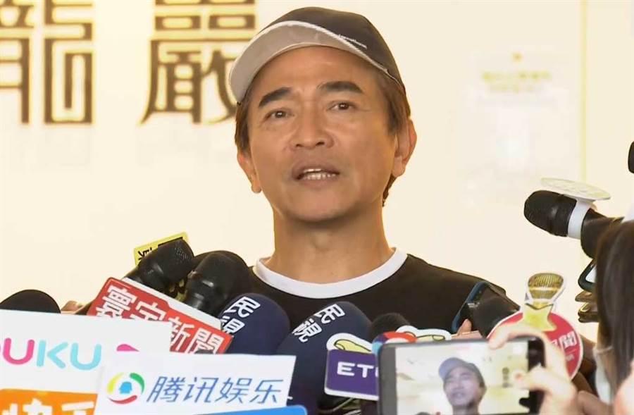 談及劉真手術一事,吳宗憲表示手術的風險,家屬都清楚,強調醫護都很盡力。(翻攝自中時電子報YouTube)