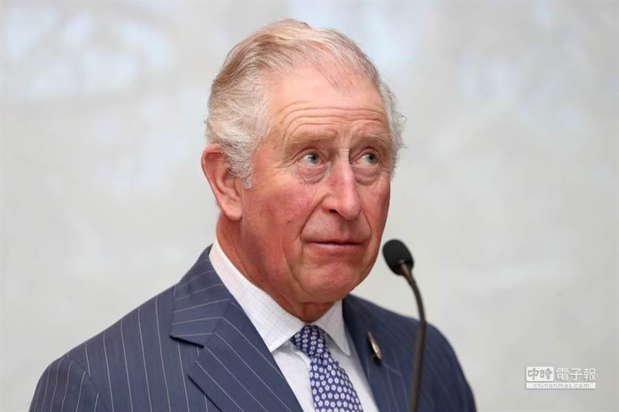 英國查爾斯王儲確診新冠肺炎,日前他因跟摩納哥親王接觸而隔離如今確診。(圖/達志影像授權提供)
