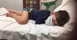 5歲兒狂燒42度「不是開玩笑」 體虛癱床問:我要死了嗎?