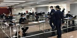 新北警第二辦公室演練 三重警設150坪大辦公室、林口警加裝隔板