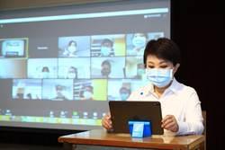 台中遠端教學啟動  因應疫情「超前部署」線上教學
