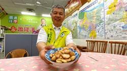 台中市議員蕭隆澤防疫 泡製醋蒜增抵抗力