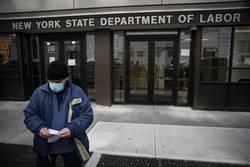 美初領失業金人數暴增飆至328萬人 創史上新高