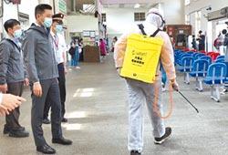 竹市防疫消毒大隊 2周消毒137處