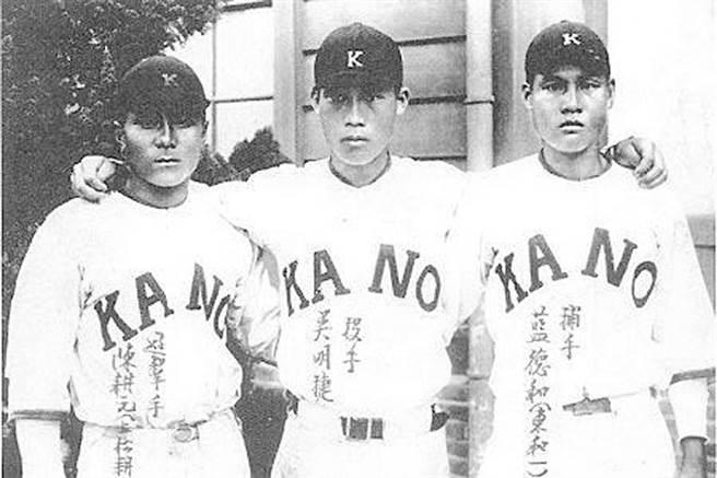 嘉農甲子園三劍客,由左而右分別是陳耕元、吳明捷及藍德和。(本報系資料照片)