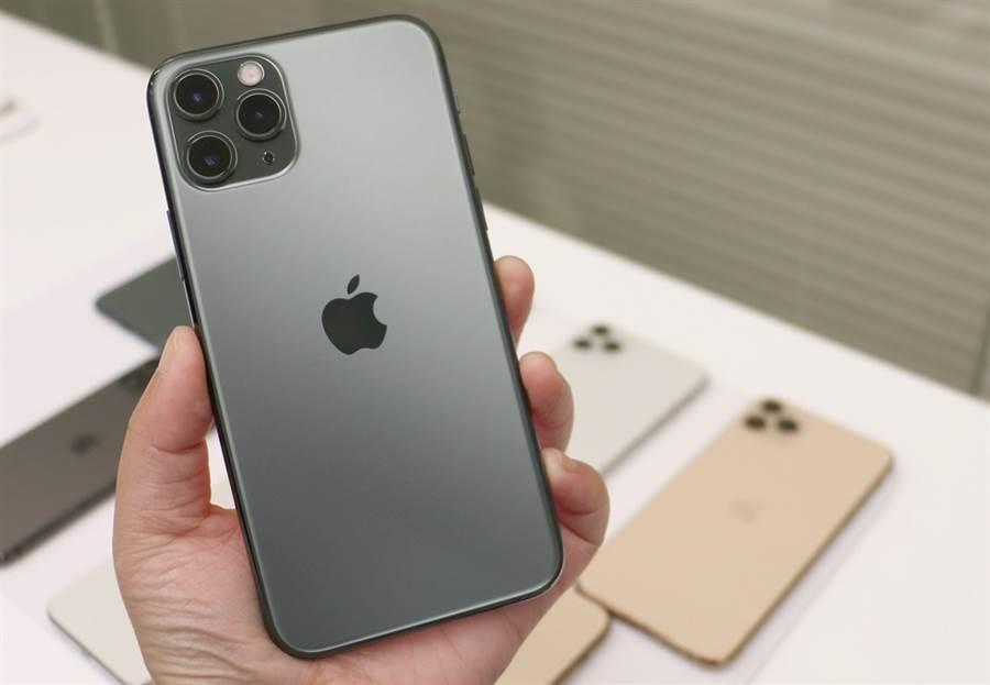 iPhone 11 Pro Max 。(黃慧雯攝)