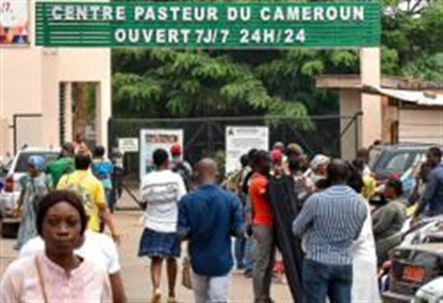 喀麥隆首現新冠肺炎病例。這是3月6日在喀麥隆雅溫得拍攝的進行新冠肺炎疑似病例檢測的巴斯德中心。(照片取自新華社)