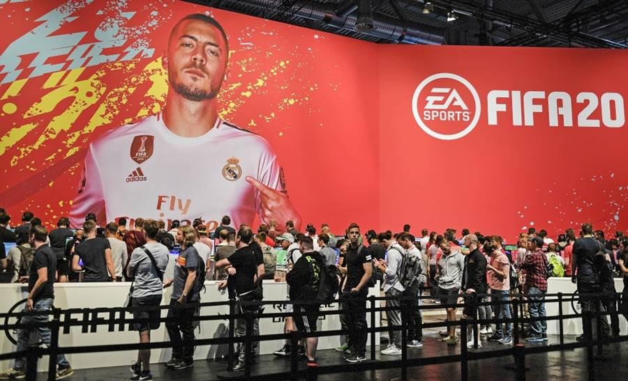 西甲皇馬阿札(Eden Hazard)是FIFA 20的封面人物之一。(美聯社資料照)