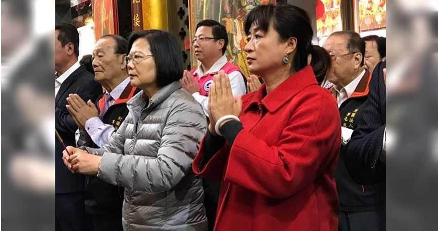 蔡培慧4月將接任行政院中部聯合服務中心執行長。(圖/截自蔡培慧臉書)
