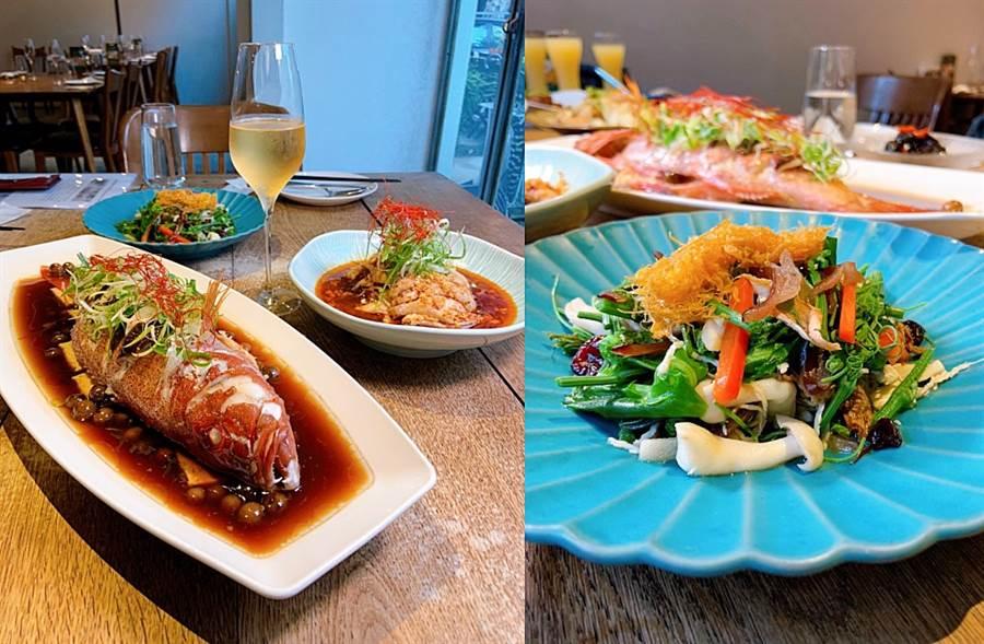 「富錦樹台菜香檳」結合道地台味與法國香檳的絕美餐酒,就連日本搞笑女神渡邊直美都大愛!(圖/楊婕安攝)