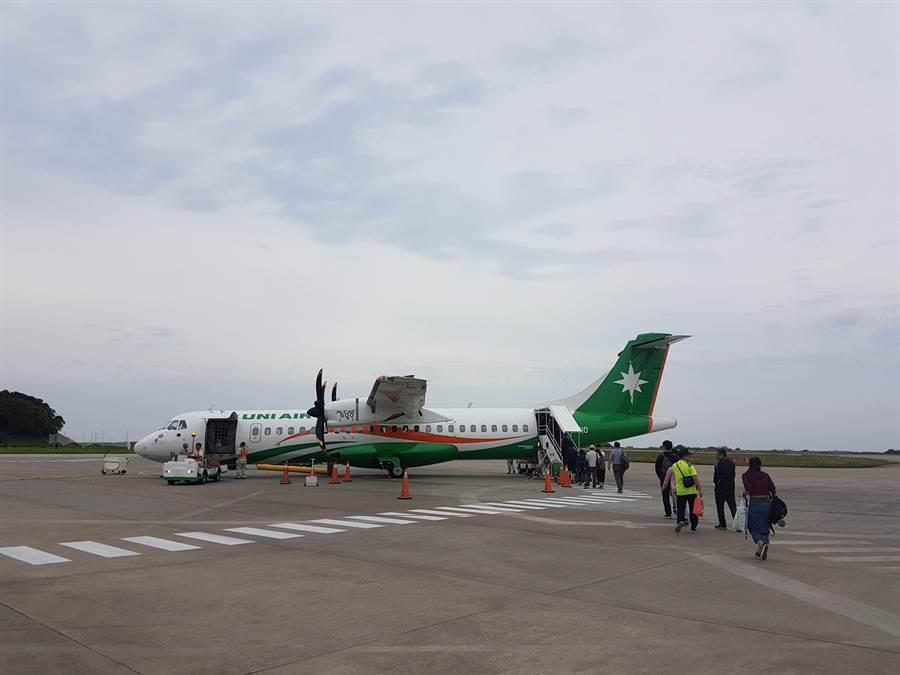 連江縣民眾非常期盼第2家航空公司進駐,解決長期以來僅有1家航空公司疏運問題。(葉書宏攝)