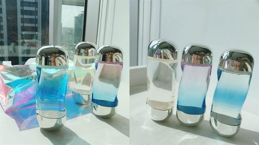 IPSA銷售NO.1流金水推出霓彩限定版,台灣搶先全球首賣。(圖/邱映慈攝影)