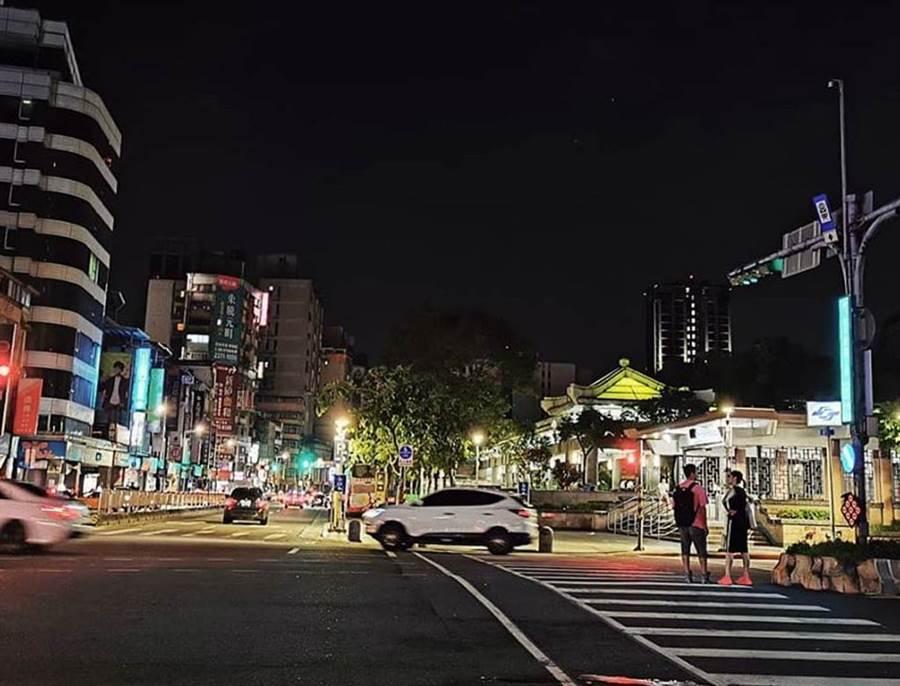 台北萬華發生當街擄人,警方迅速出擊。(吳家詮攝影)