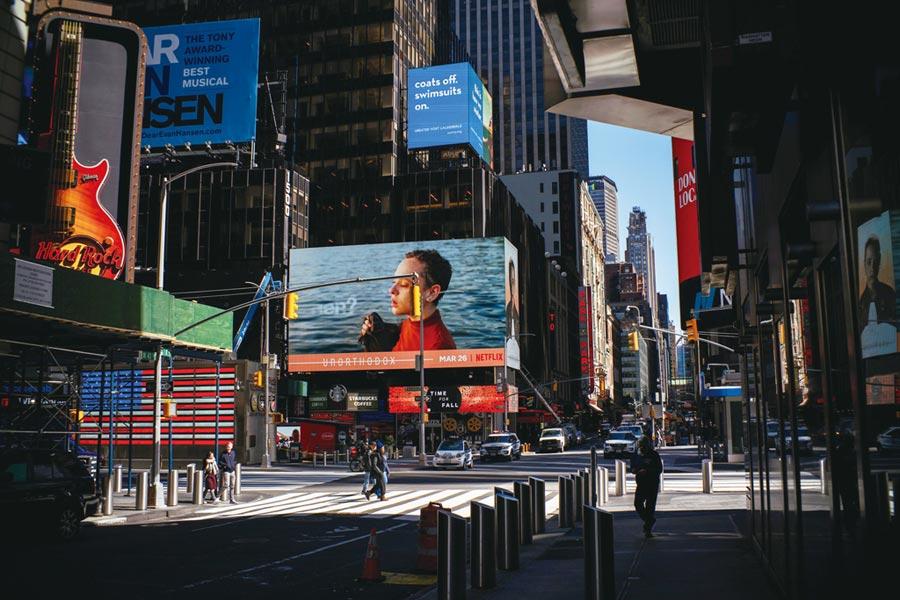 紐約州淪疫情重災區,確診人數暴增。圖/路透