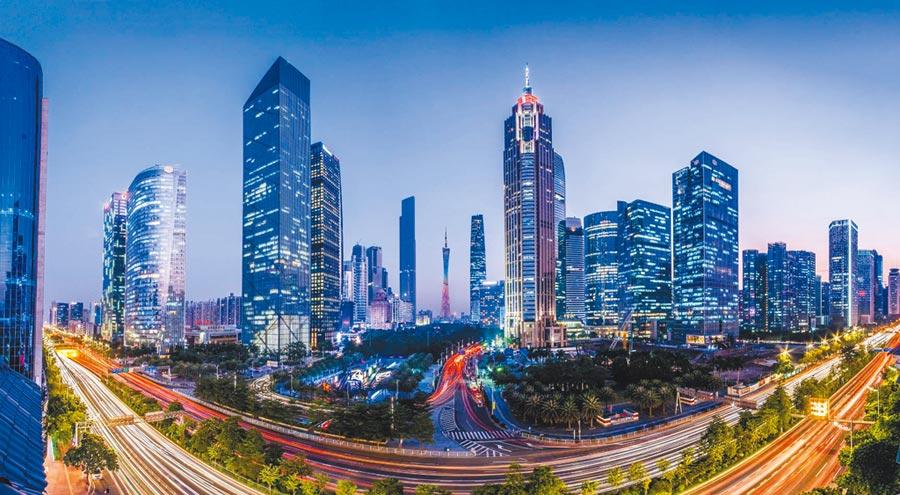 廣州珠江新城。