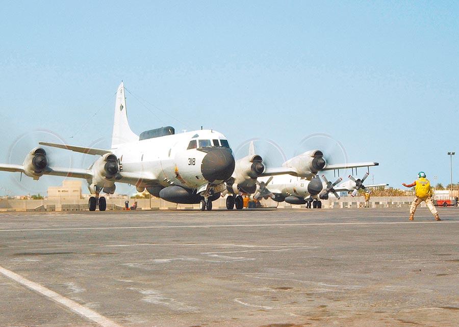 美軍EP-3E電偵機25日出現在台灣西南海域。(取自美國海軍官網)