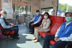 雲林縣2計程車、7大客車共組「防疫車隊」