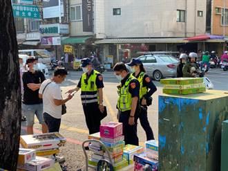 台南新生報到補教業者發傳單 永康警霸氣開罰
