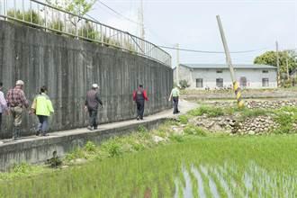 外埔水美農路被烏龍挖除 民代爭取恢復4米路寬