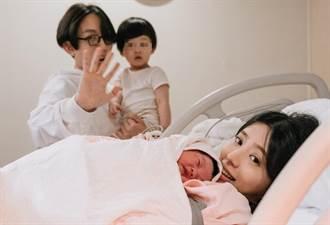 恭喜!林宥嘉女兒「Pippi」出生 溫馨曬一家四口合照