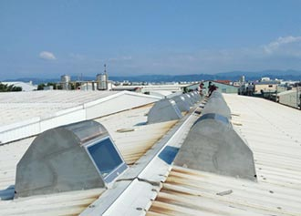 風碩專利自然通風設備 高效排熱又省電