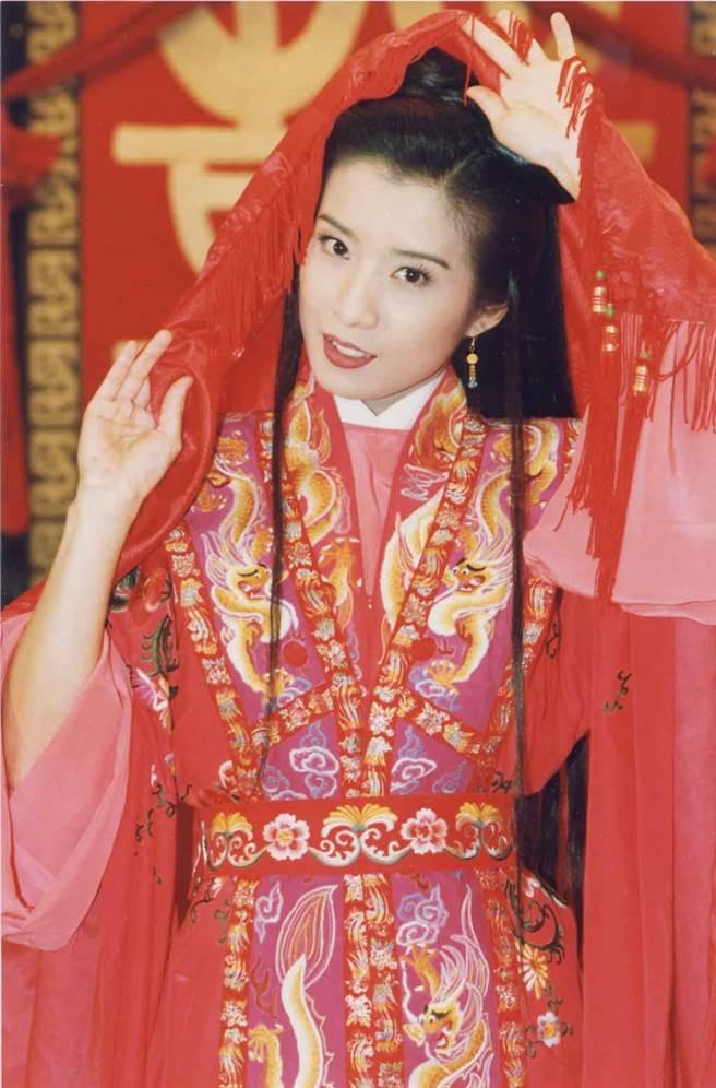 岳翎的古裝扮相美得驚人。(中時資料照片)