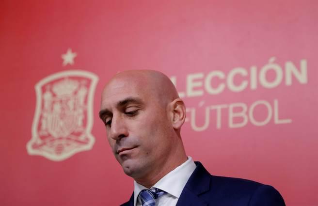 西班牙足總主席LuisRubiales全力爭取在6月30日完結本賽季。(達志影像)