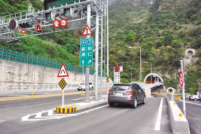 蘇花改花蓮路段與隧道並未提速,駕駛人指「速限不一」,可能更陷超速。(王志偉攝)