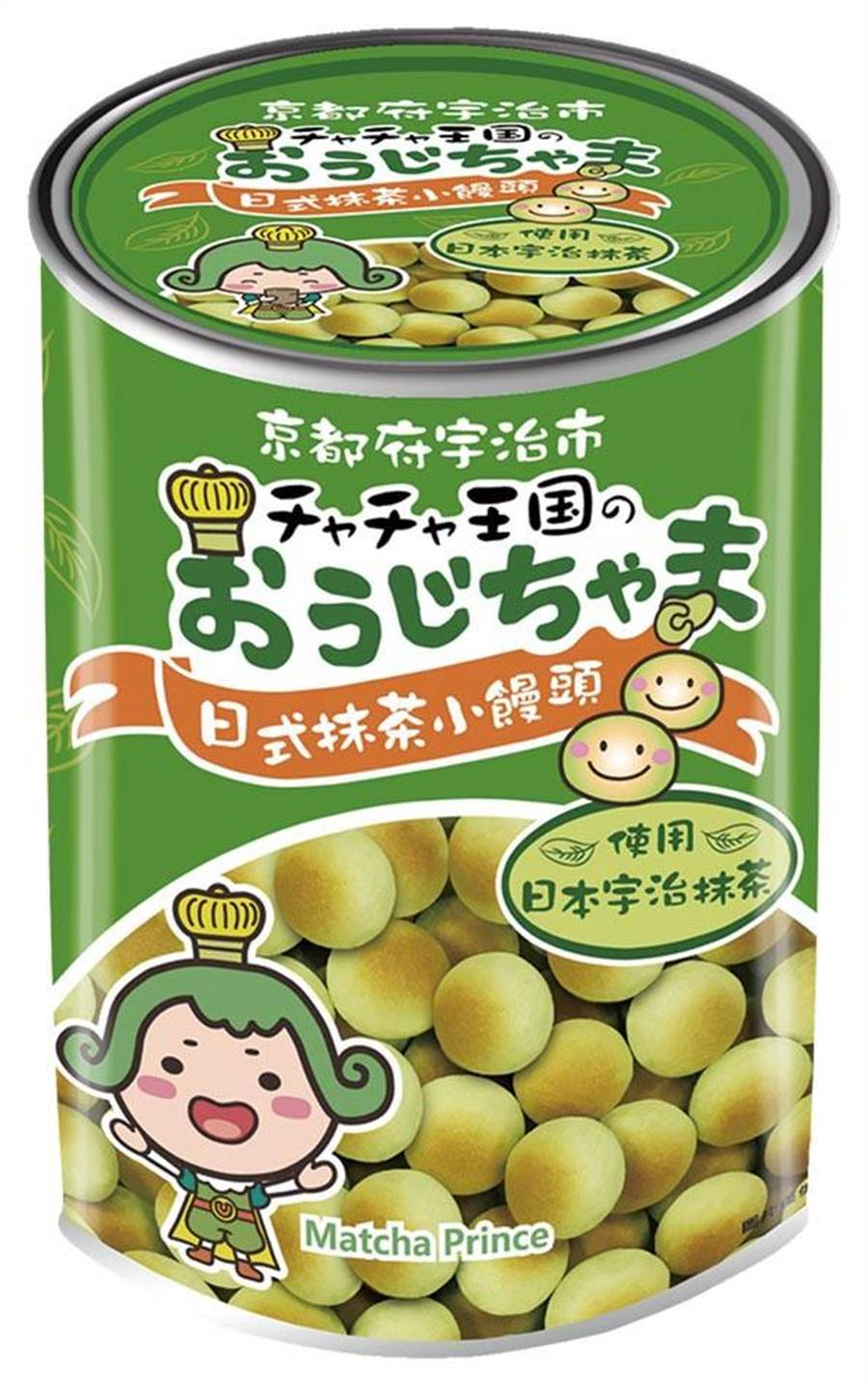家樂福旺旺日式抹茶小饅頭,210g、99元。(家樂福提供)