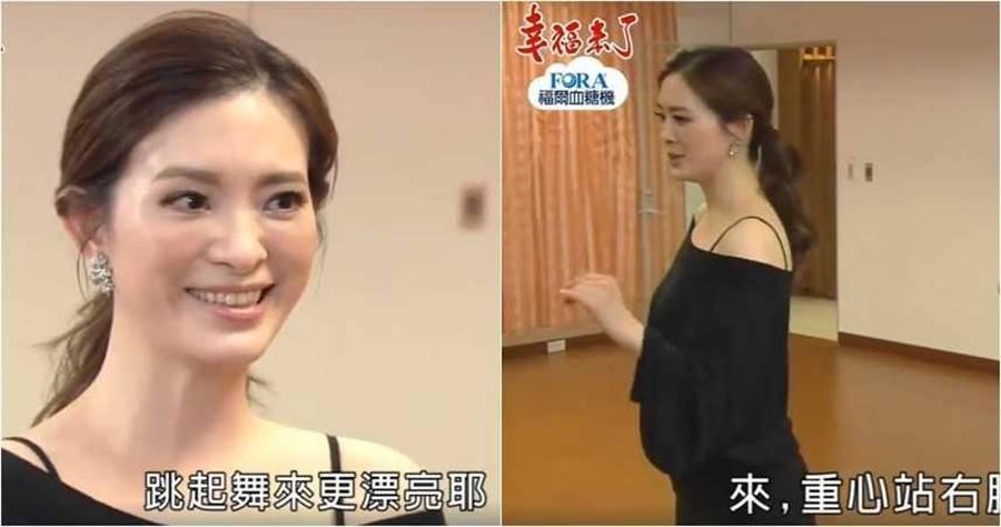 劉真生前曾演出過本土劇,客串的角色是她的舞蹈專長,飾演國標舞老師。(圖/翻攝臉書)