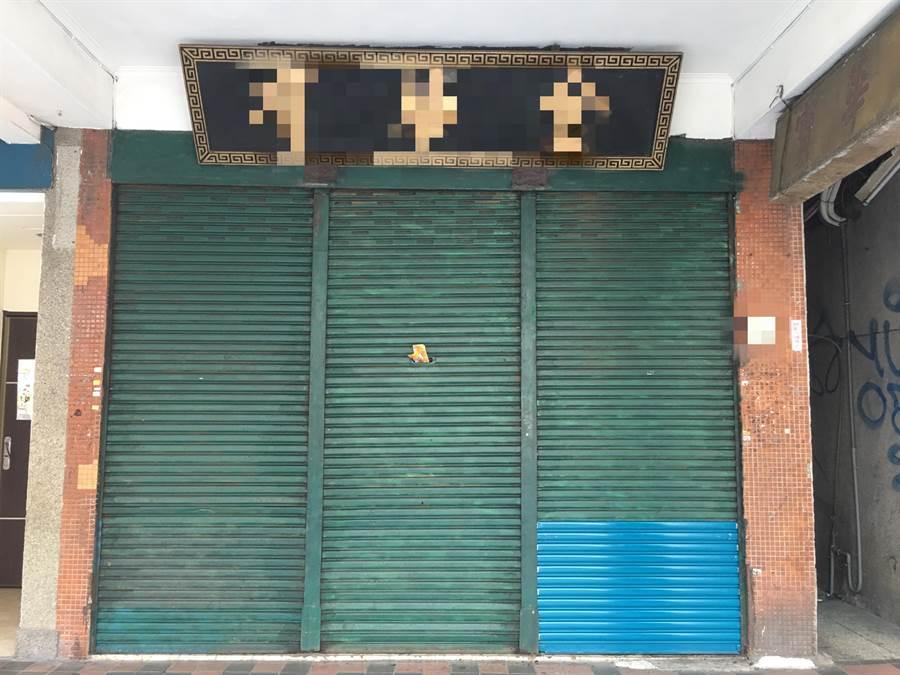 西門町某銀樓遭慣竊闖入洗劫。(陳鴻偉翻攝)