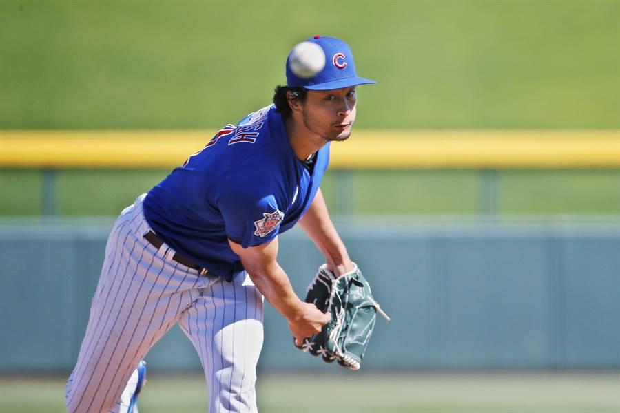 日效力小熊隊的日籍投手達比修有,在推特讚賞藤浪晉太郎反應很迅速。(美聯社資料照)
