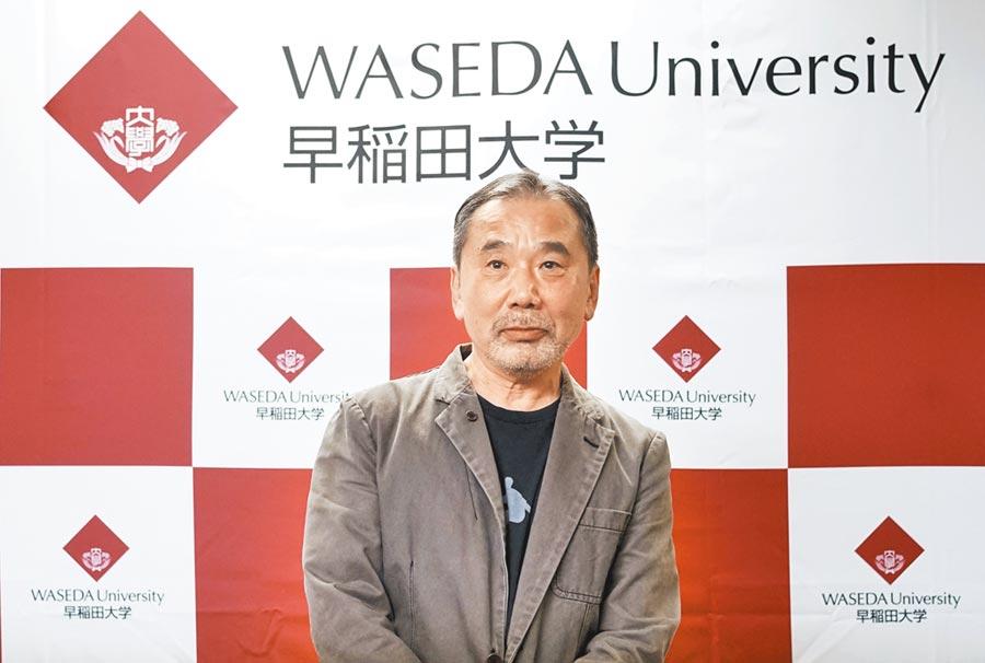 日本作家村上春樹新書《棄貓──關於父親,我說的其實是…》,預定4月23日於日本出版。(美聯社)
