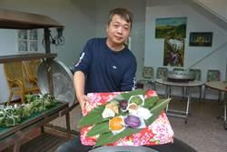 不景氣他放棄近百萬年薪  返鄉研發紫米粄粽闖名號