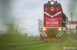 武漢中歐班列貨運重啟 援歐防疫用品占3成