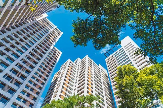 「映象太和」擁有城市少見的63%高綠覆率,綻放生生不息的生命力。(映象太和提供)